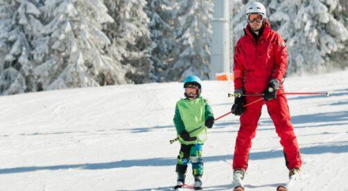 Ski areál Bílá si užiješ s ISIC sevou