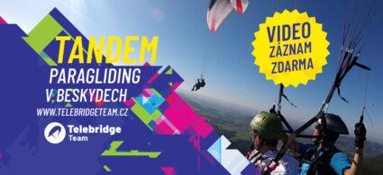 SOUTĚŽ Nepřekonatelný pocit svobody a euforie, který můžete zažít při tandem paraglidingu
