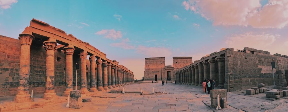 Egyptský chrám Philae