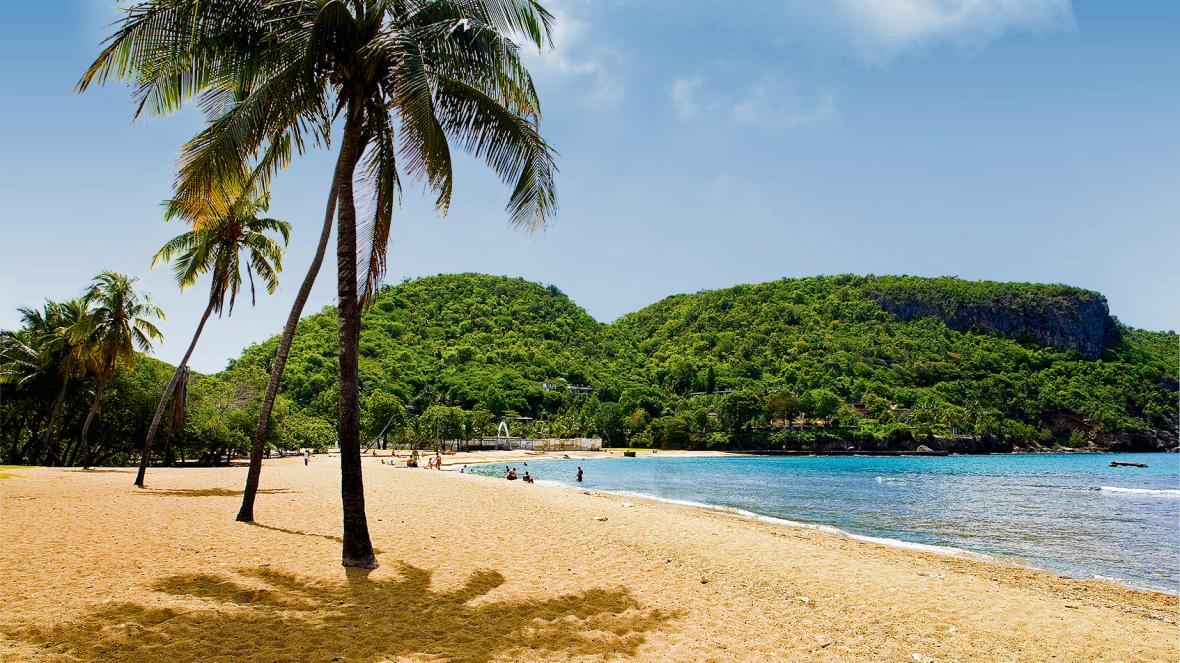 Pláž poblíž Santiaga de Cuba