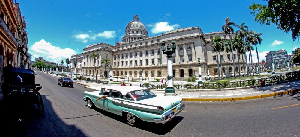 Stará amerika v Havaně