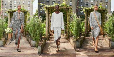 Zahradní módní přehlídka Michaela Korse