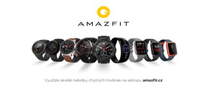 Chytré hodinky Amazfit nově se slevou!