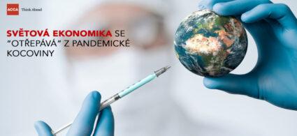 """Světová ekonomika se """"otřepává"""" z pandemické kocoviny"""