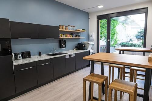 kuchyňka v ISIC