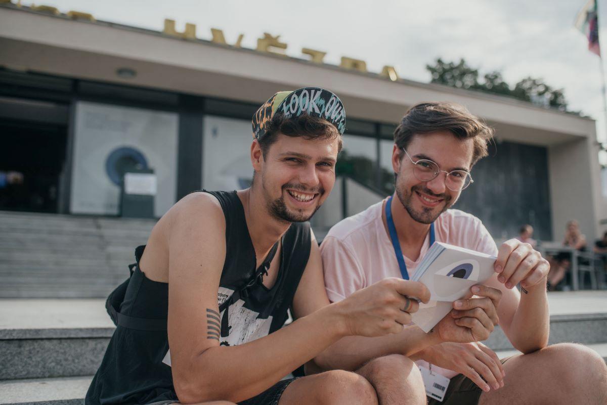 Návštěvníci Letní filmové školy