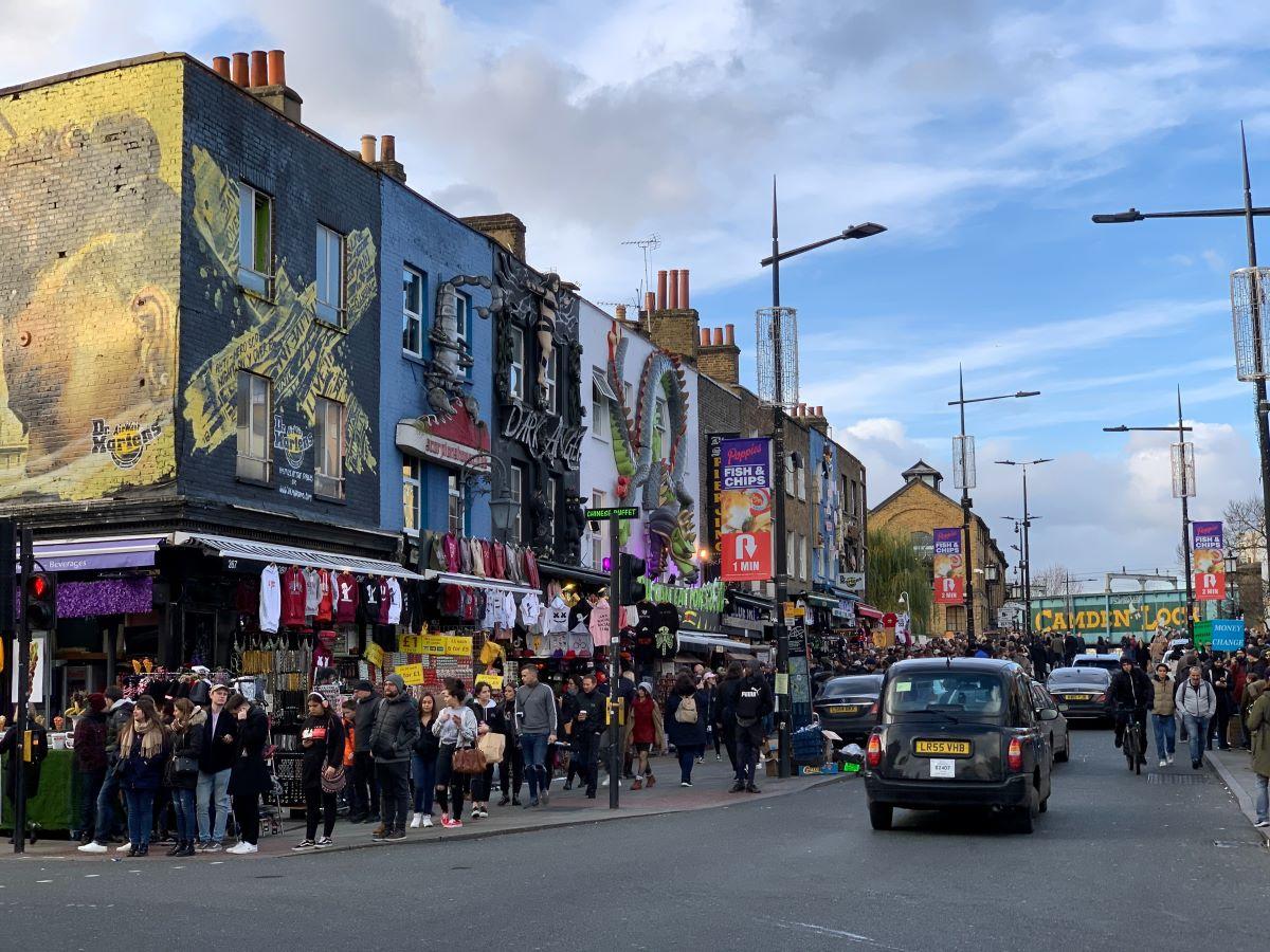 Camden Market Londýb