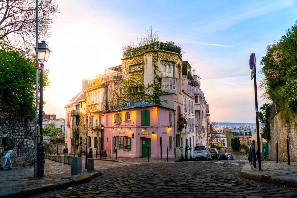 Montmartre Paříž