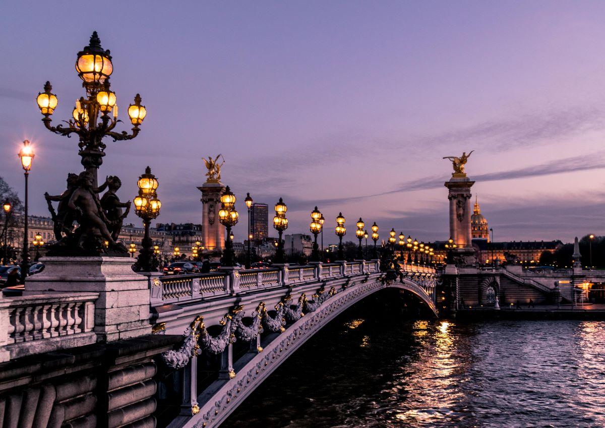 Řeka Seina v Paříži