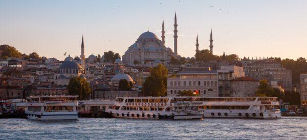 Istanbul Bospor a Velká Mešita