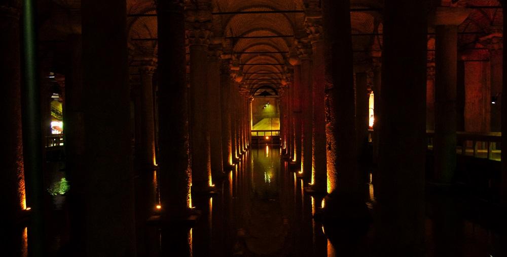 Interiér Cisterny Yeretaban