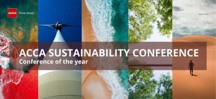 Mezinárodní konference ACCA na téma udržitelnost, finance a účetnictví